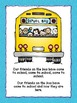 """Name Activities: """"Our Friends on the Bus"""" Class Name Book"""