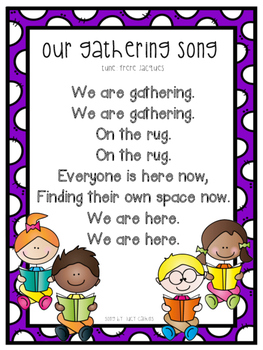 Our Gathering Song