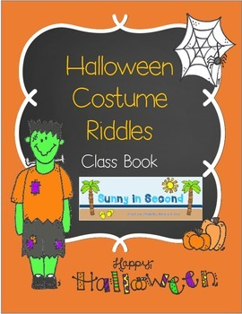 Our Halloween Costumes - Riddles - Class Book