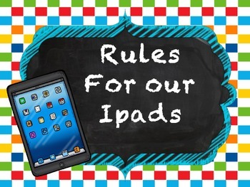 Our Ipad Rules