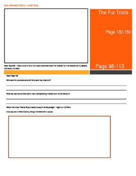 Our Land and People Activity Booklet - Chpt. 8 (The Fur Trade)