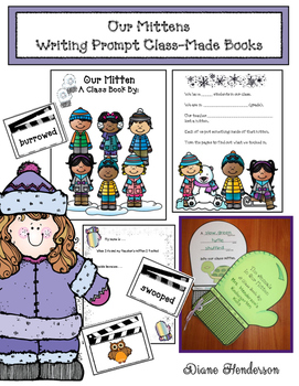 Our Mittens: Writing Prompt Class-Made Books