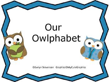 Our Owlphabet