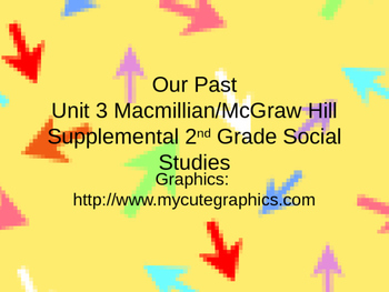 Our Past Grade 2 Macmillian/McGraw Hill We Live Together S