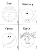 Our Solar System, FREE ONE ACTIVITY from Full Pack