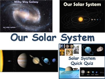 Our Solar System Lesson & Flashcards - task cards, study g