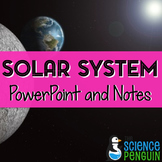 Solar System PowerPoint and Notes
