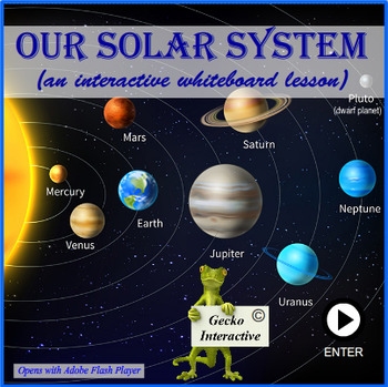 Our Solar System - a SmartBoard and Interactive Whiteboard lesson