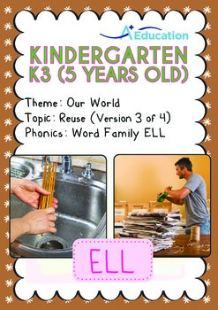 Our World - Reuse (III): ELL Family - K3 (5 years old)