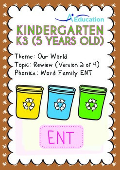 Our World - Review: 3R (II): ENT Family - K3 (5 years old)