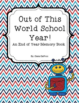 Out Of This World School Memory Book
