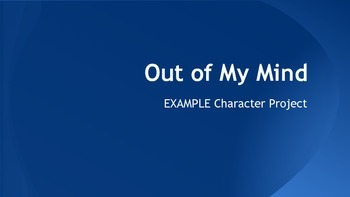 Out of My Mind Character Project