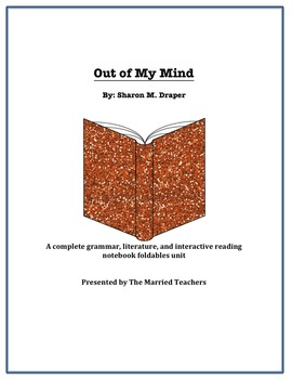 Out of My Mind Complete Literature, Grammar, & Interactive