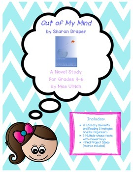 Out of My Mind Novel Study