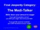 Out of My Mind by Sharon Draper Jeopardy
