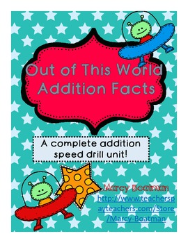 Out of This World Addition Fact Unit