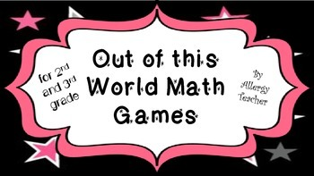 Out of This World Math Games