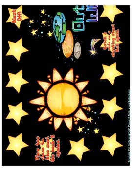 Out of This World! -blends, digraph, silent e for the Comm