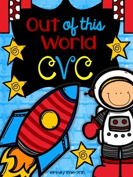 Out of this World CVC! NO PREP Practice Pages