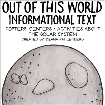 Out of this World Informational Text