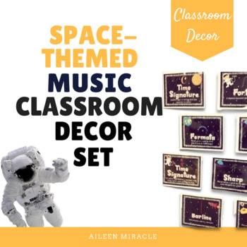 """Out of this World"" Music Classroom Decor Set"