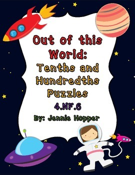 Out of this World: Tenths and Hundredths Puzzles (Fraction