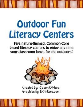 Outdoor Fun Literacy Centers