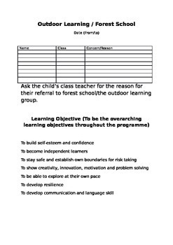 Outdoor Learning with Forest School - Gardening/ Sewing se