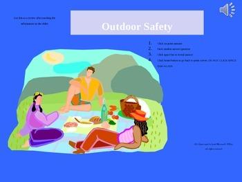 Outdoor safety powerpoint quiz show