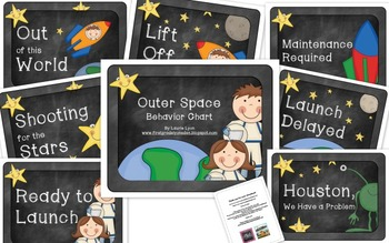 Outer Space Behavior Chart