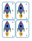 Outer Space Capital to Lowercase Clip Cards