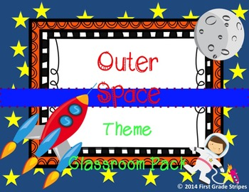Outer Space Classroom Pack
