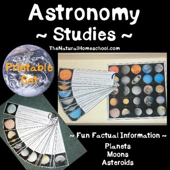 Outer Space Fact Cards