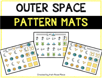 Outer Space Pattern Mats