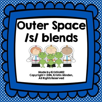 Outer Space /S/ Blends Freebie