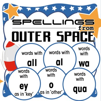 Outer Space Spellings 8: Words with al/all/o as in other/e