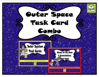 Outer Space Task Card Combo