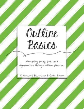 Essay Outline Writing Basics (Instruction & Practice) - Co