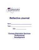 Outline for Teacher Reflective Learning Journal