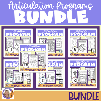 Articulation Programs & Homework: Outside the Therapy Room