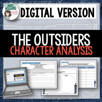Outsiders - Character Analysis - Google / OneDrive Version