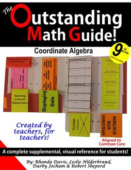 Outstanding Math Guide (OMG) 9th Grade Coordinate Algebra