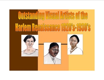 Outstanding Visual Artists of the Harlem Renaissance Timeline
