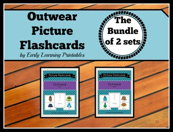 Outwear BUNDLE (Set I, II) Picture Flashcards