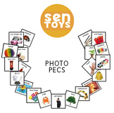 Over 1500 Printable Photo PECS Cards. Digital JPEG Images.