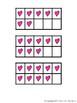 Over 200 Valentine's Day Heart Ten Frames