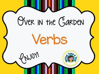 Over in the Garden Verbs