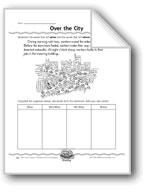 Over the City (Super Sentence Organizer)