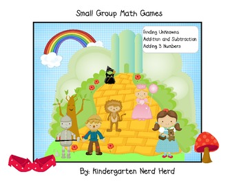 Over the Rainbow: Small Group Math Games