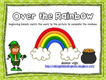Over the Rainbow-beginning blends